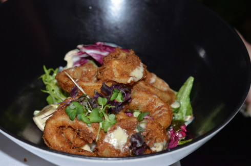Best Restaurants in Barbados - Calamari Fritti Salad, The Tides