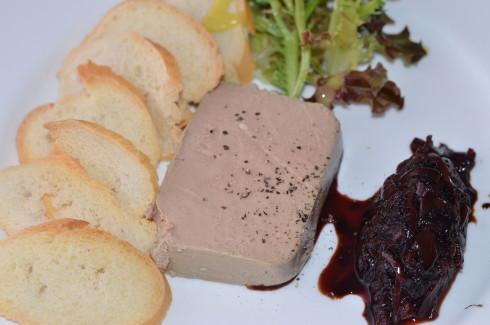 Best Restaurants in Barbados - Chicken Liver Pate, Cin Cin