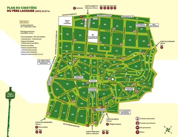 Pere Lachaise - A Walking Tour with David Burke