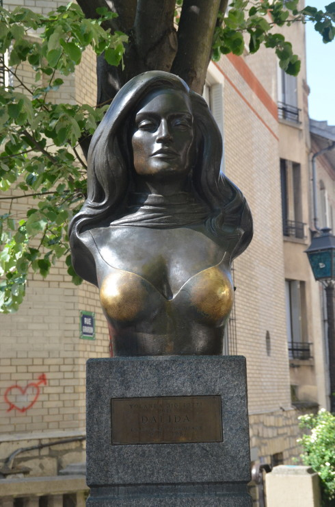 Bust of Dalida