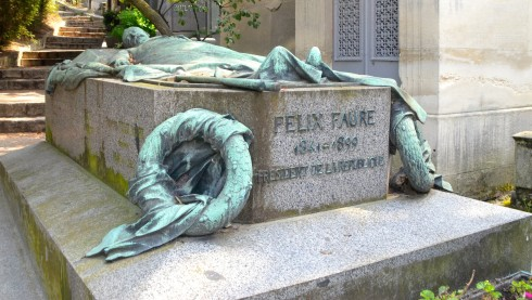 Felix Faure in Pere Lachaise