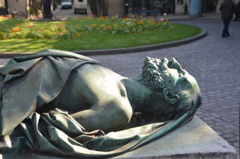 Godefrey Cavaignac, Montmartre Cemetery