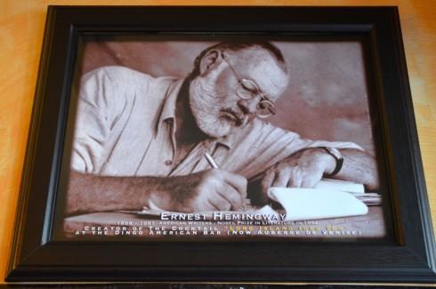 Hemingway in Paris at The Dingo