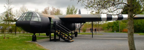 Horsa Glider replica at Pegasus Bridge