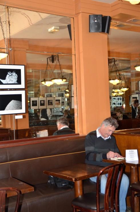 Imitating Hemingway in Paris at La Select