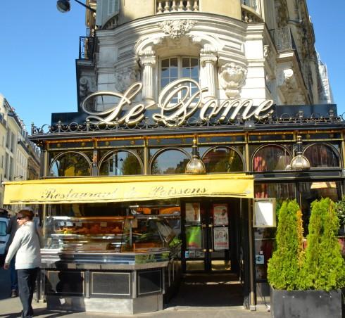 Hemingway in Paris - Le Dome