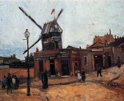 Le Moulin de la Galette by Van Gogh