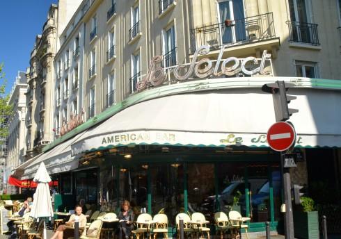 Hemingway in Paris - Le Select