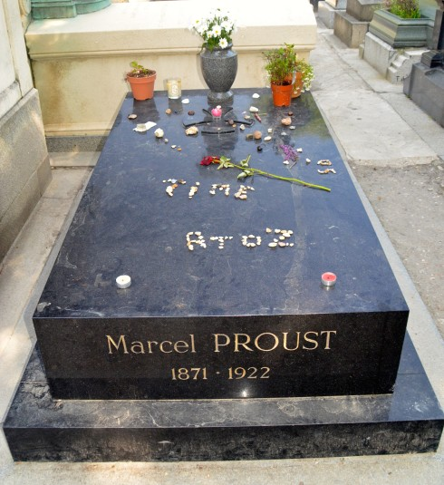 Marcel Proust in Pere Lachaise