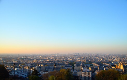 Paris from Sacre Couer