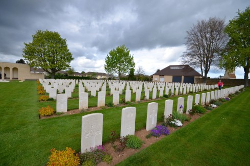Second Photo of Ranville War Cemetery