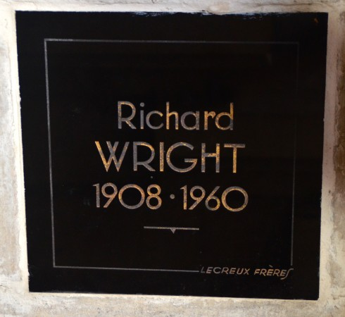 Richard Wright in Pere Lachaise