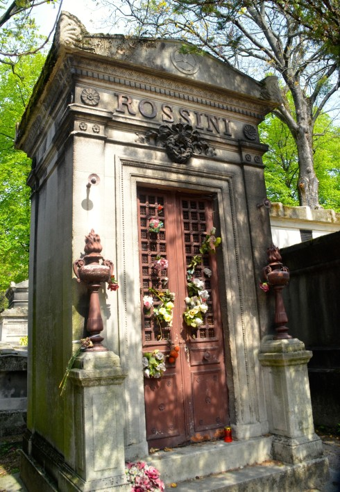 Rossini in Pere Lachaise