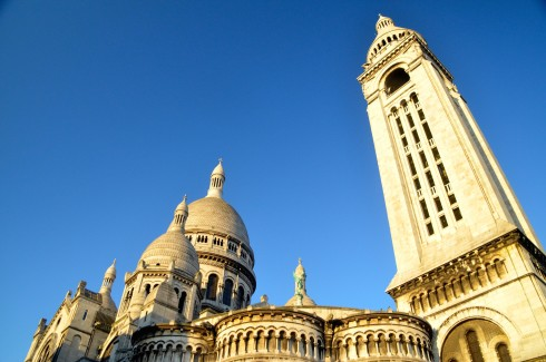 Sacre Coeur & Bell Tower, Montmartre