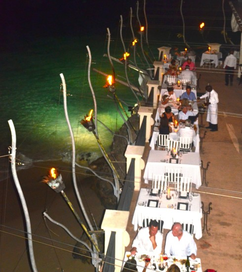 Best Places to Eat in Barbados - Seaside tables, The Cliff
