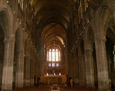 Photo of St. Denis Nave