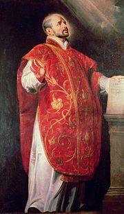 St. Ignatius Loyola by Rubens