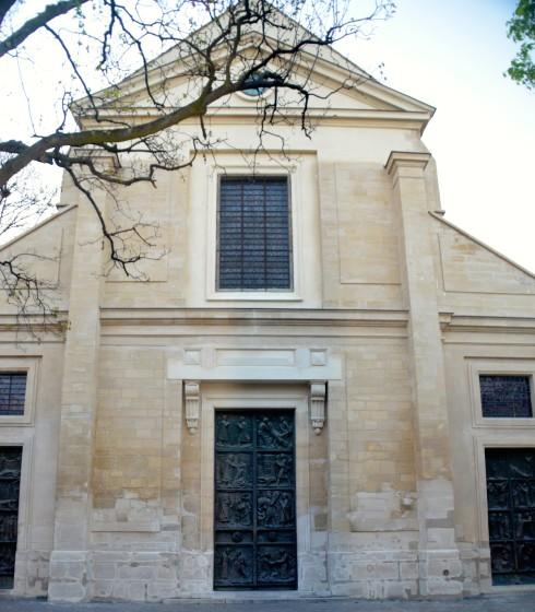 Entrsance to St. Pierre de Montmartre