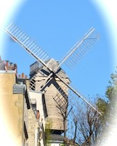 The Moulin de la Gaulette in Montmartre