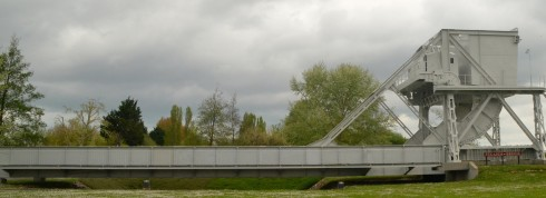 Photo of the Original Pegasus Bridge
