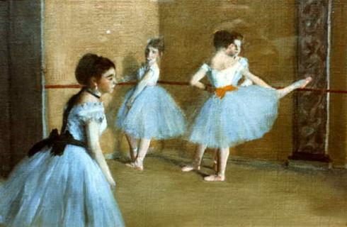 Ballet dancers - Degas