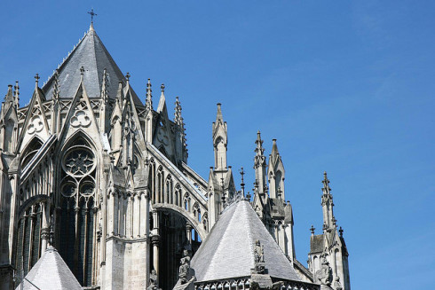 Photo of Amiens Cathedral Flying buttress