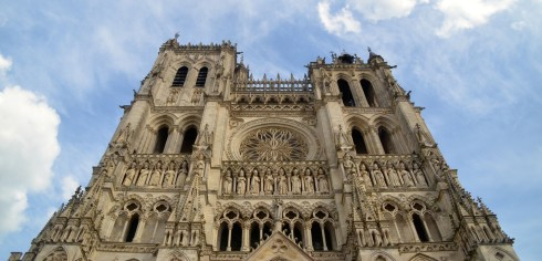 Amiens Cathedral Towers