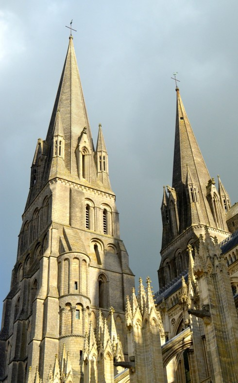 The Bayeux Tapestry - Bayeux Cathedral Spires