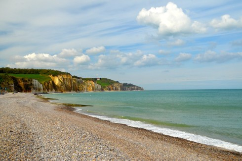 Beach at Pourville, The Dieppe Raid