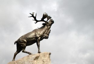 The Caribou Memorial at Beaumont Hamel