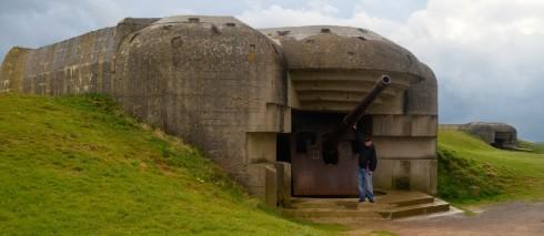 Photo of the Big gun at Longues-sur-Mer