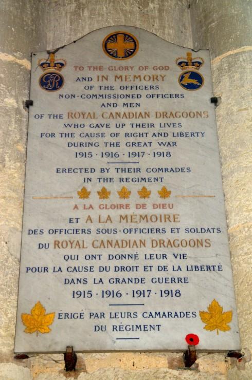 Canadians Memorial
