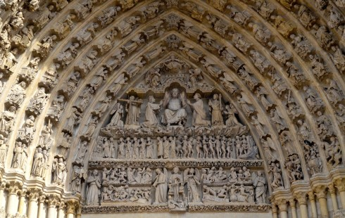 Amiens Cathedral Gothic Arches