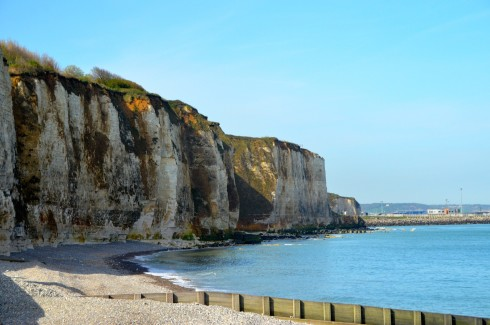 The Dieppe Raid - The Cliffs at Puy