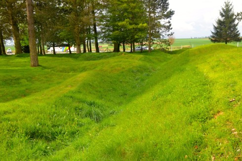 Communication Trench at Beaumont Hamel