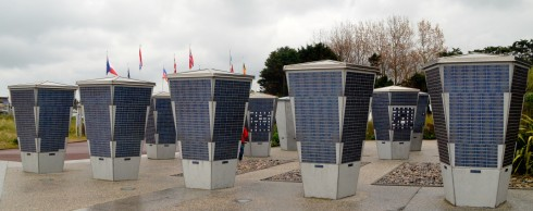Contribution Plaques at Juno Beach Centre