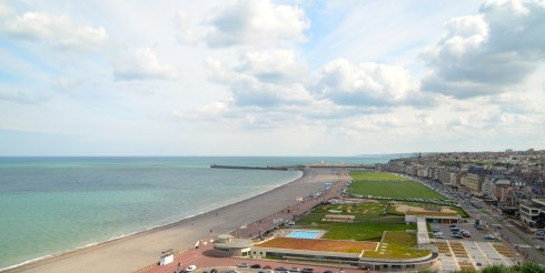The Dieppe Raid - Dieppe from the Castle