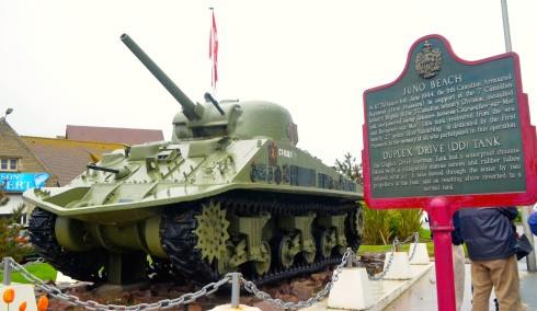 Duplex Drive Tank at Juno Beach