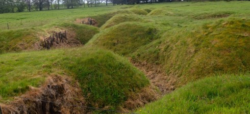Front Line trenches at Beaumont Hamel