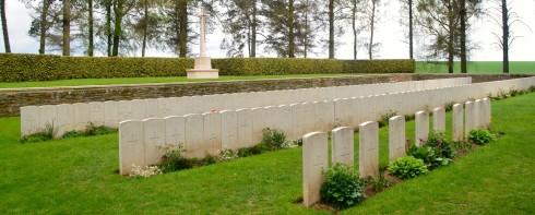 Hawthorne Ridge Cemetery #2 at Beaumont Hamel