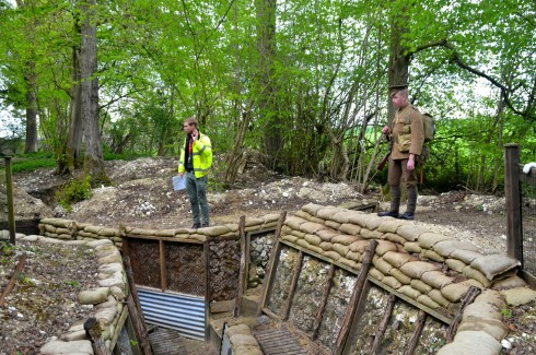 Battle of the Somme trenches