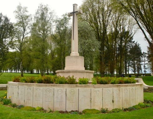 Hunters Cemetery at Beaumont Hamel