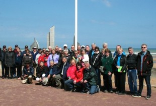 Liberation Tour 2015 at Omaha Beach