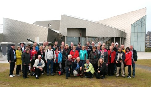Photo of Liberation Tours group at Juno Beach
