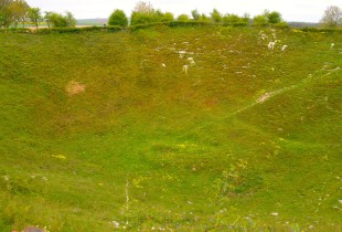 Photo of Lochnagar Crater