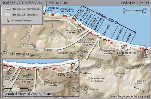 Omaha Beach Landings