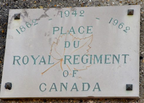 The Dieppe Raid - Place du Royal Regiment of Canada