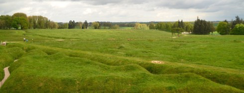 View from the Caribou at Beaumont Hamel