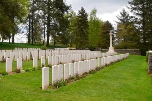 Y Ravine Cemetery at Beaumont Hamel