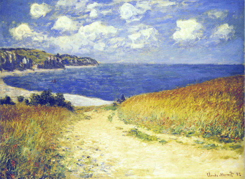 Alley near Pourville - Claude Monet